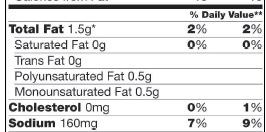 No3_Limit Nutrients_HoneyNutCheerios_Nutrition Facts